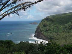Pololu Valley (from the hike)
