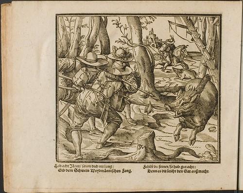 Kunstliche Wolgerissene Figuren by Tobias Stimmer and Christoph Maurer 1605 c