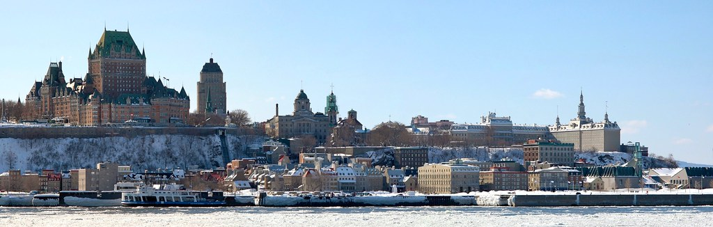 Québec vue de Lévis