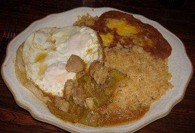 Azteca - Huevos Rancheros