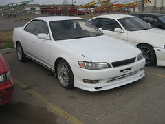 1993 Toyota Mark II Grande G (dave_7) Tags: 2 car grande mark g 1993 ii toyota guessed lethbridge jdm righthanddrive