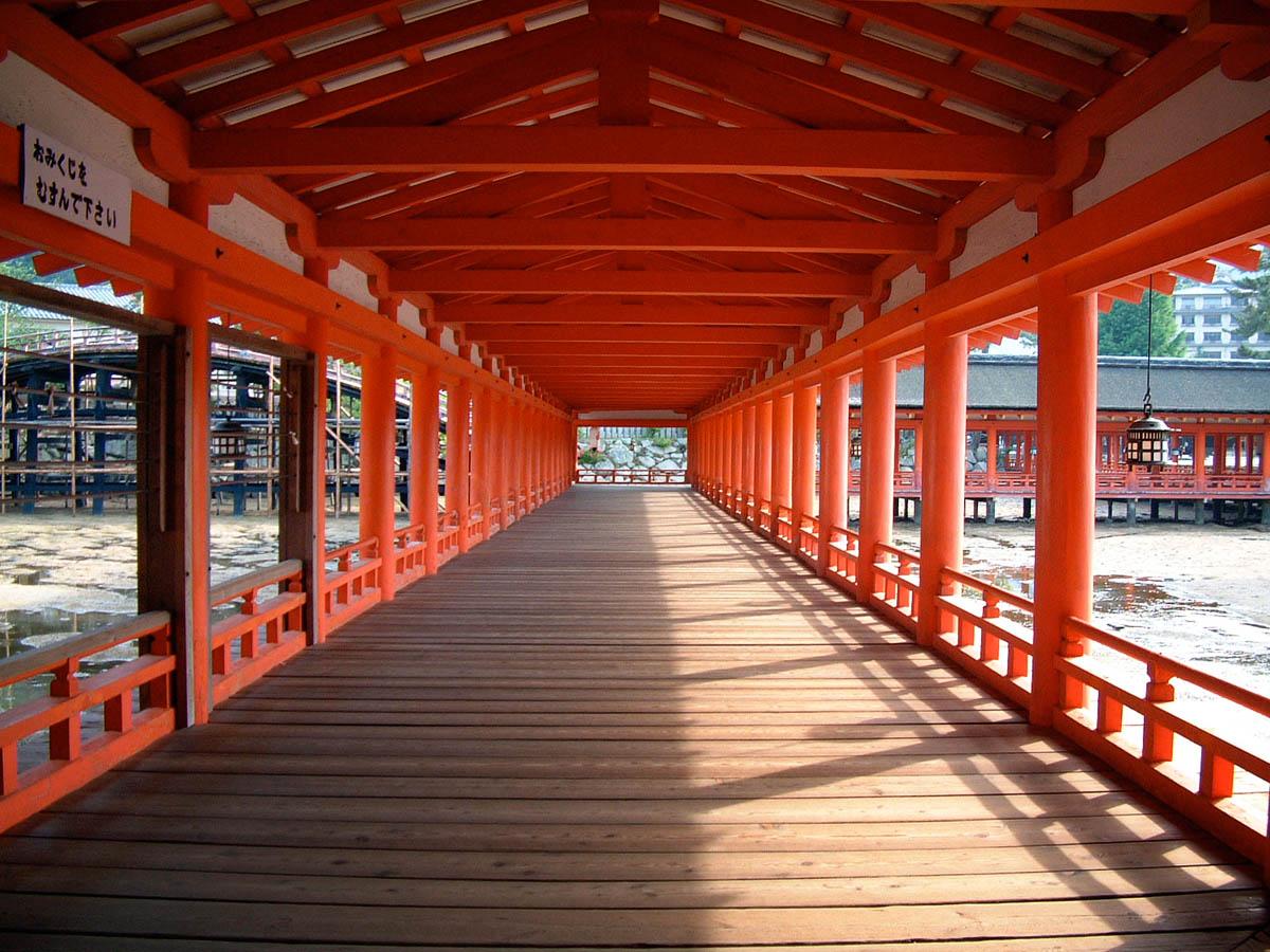 Itsukushima Pier, Itsukushima Shrine, Miyajima Island, Japan