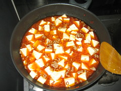 Finished Mabo Tofu