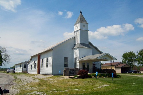 New Marion Baptist Church, New Marion, Indiana