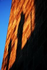 One can Live in the Shadow of an Idea... (Jody Art) Tags: light sunset shadow tramonto tetto searchthebest ombra espana luce barcellona spagna 2007 cattedrale riflessione elizabethbowen impressedbeauty jodyart jodysticca