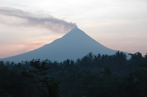 Indonesia Mount Mirapi eruption and earthquakes, tsunami
