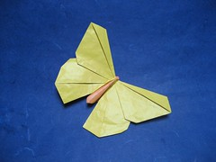 Butterfly michael lafosse gio origami tags origami