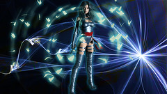 psylocke (世界這麽大) Tags: xmen psylocke apocalypse marvel marvelcomic marvelheroes deadpool heroes superhero light butterfly photoshop manuipuation hongkong