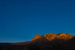 Lit up (atschussman) Tags: light sunset usa landscape scenery dusk sedona az redrock da21mm