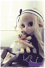 Melody - Pullip Prupate (Kim-kun) Tags: white black purple melody pullip mattel angelicpretty barbiefashion obitsubody pulliptiphona pullipprupate pullipshinkukunkun