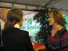 memorial service @ Phipps (Leanne Michelle) Tags: garden pittsburgh tribute phippsconservatory memorialservice inlovingmemory outdoorgarden acelebrationoflife leanderminnerly