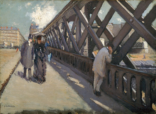 G Caillebotte Le pont de europe