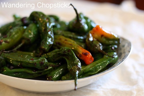 Shisito Peppers with Chinese XO Sauce 10