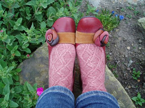 Hopscotch socks - finished object