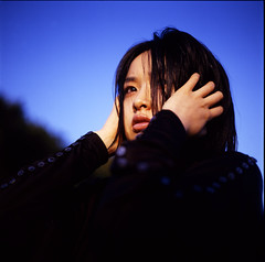 Pagan Poetry IV (TommyOshima) Tags: 6x6 girl iso100 kodak 120film bronica epp misa mishan misaitoi