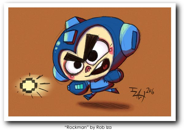 The Most Stunning Megaman Artwork Pt. 2
