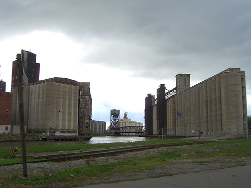 Grain elevators on the Buffalo River