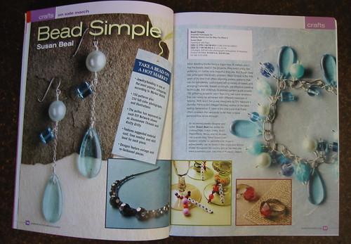 Bead Simple in the Taunton catalog!