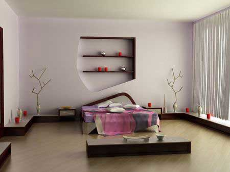 modern bedroom interior decorating home interiors