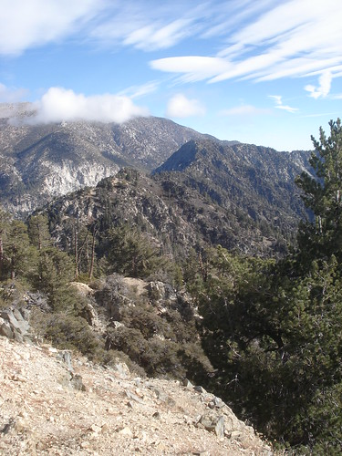 Views of Gleason from near the Summit of Little San Gorgonio - Nice Ridge!
