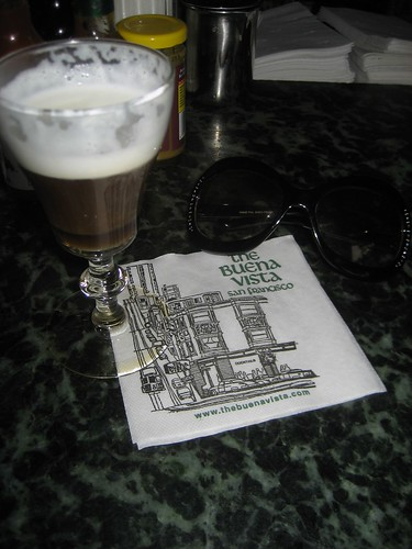 Irish Coffee at the Buena Vista
