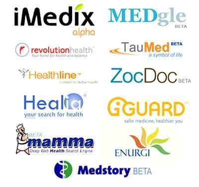 Health 2.0 logos