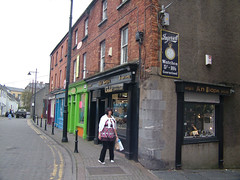 2007_1103Ire0242 (Brian J Crewe) Tags: bridge ireland marina shops pubs waterford