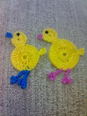 pintinhos (tatha_petermann) Tags: origami barbie desenho chapu croche pintinhos
