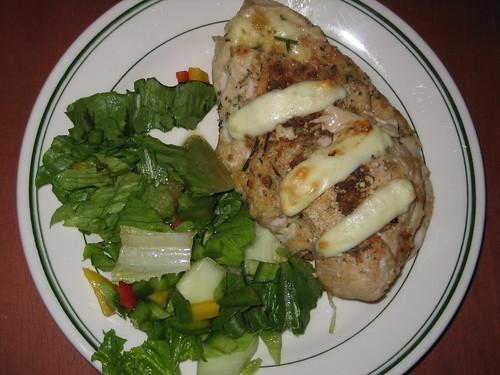 Cooked Moist Chicken Mozzarella 2