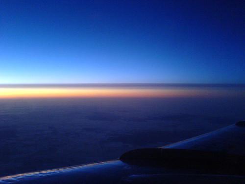 Рассвет над Казахстаном