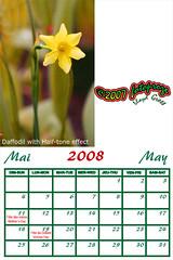 flora 05 - may 08 (fotoproze) Tags: flora 100 kalender 50 2008 calendars calendari kalendar  lch calendarios   calendrios dagatal  kalenders kalendari calendaris calendriers egutegiak  kalendarze calendare kalendere  kalendrar naptrak  kalende kalenterit   filir  kalendra koledarji takvimler  calendrau