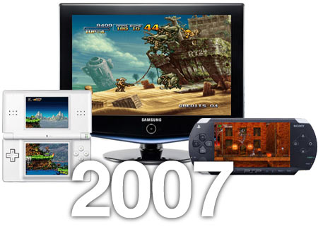The Best Retro Games of 2007