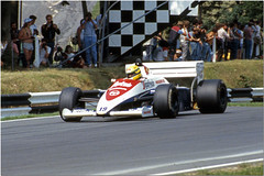 Ayrton Senna Toleman Hart TG184 F1.  1984 Brands Hatch British GP (Antsphoto) Tags: uk slr classic car speed 35mm honda one williams lotus britain champion grand f1 racing historic renault grandprix prix turbo mclaren formulaone formula hart british hatch canonae1 1980s motorsports formula1 senna gp brands groundeffects motorsport racingcar turbocharged autosport kodakfilm ayrton jps worldchampion ayrtonsenna carracing racingdriver toleman motoracing f1car formulaonecar mclarenhonda formula1car tamron70210mm aytonsenna f1worldchampionship tg184 96t tolemanhart grandprixcar antsphoto canonae135mmslr fiaformulaoneworldchampionship f1motoracing formula11980s anthonyfosh formula1turbo