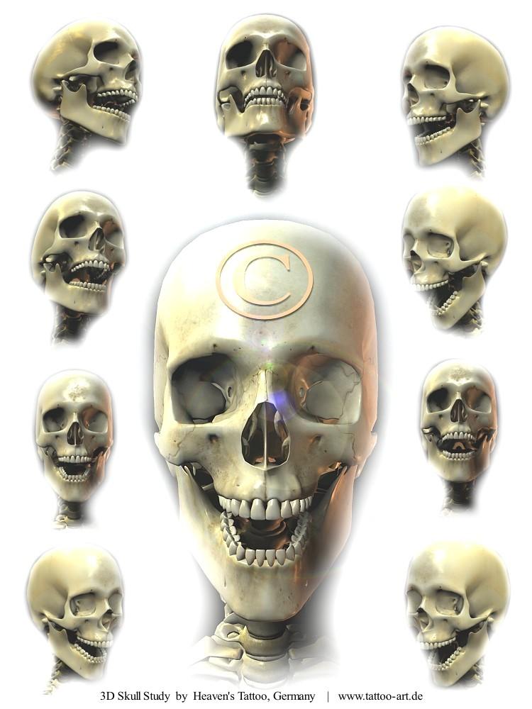 Skull Tattoo Flash · Click Here to Read More Skull Tattoo Flash