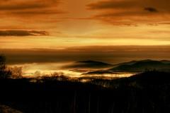Winterglow ( D L Ennis) Tags: trees winter mist fog clouds forest searchthebest blanket blueridgemountains valleys supershot winterglow platinumphoto anawesomeshot impressedbeauty superbmasterpiece dlennis diamondclassphotographer