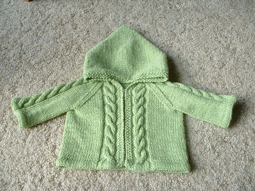 Teensie Sweater Finished