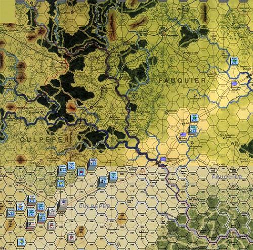 Burnside Takes Command - Battle of Culpeper