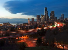 Seattle, early evening