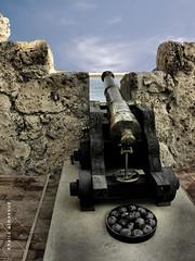 Historic Artillery Mortar (khalid almasoud) Tags: old light castle nikon rocks photographer spot historic mortar artillery  khalid romanian resemble 8800       almasoud   kuwaitartphoto bestdigitalphotos newburning  tasweery