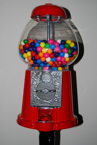 Cameron's gum ball machine