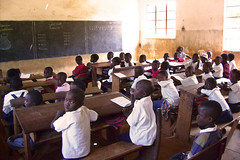 Elementary school at Mulungwishi