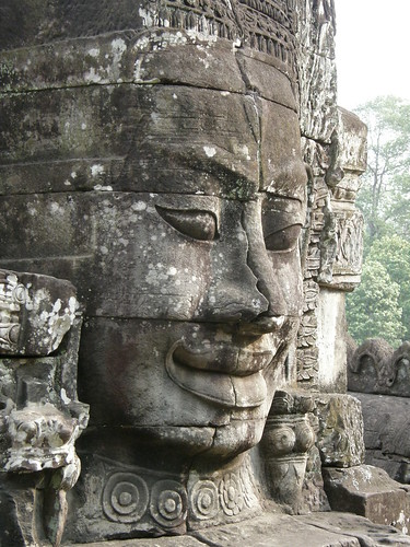 One of the temples near Angkor Wat
