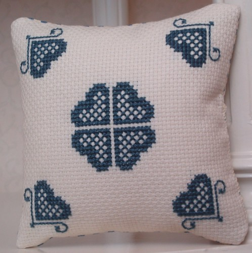 cushion made by Mary