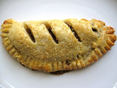 chocolate pb banana empenada
