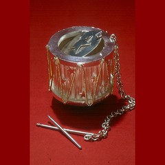 """Revolution"" 2005 (Edward Lane McCartney) Tags: art silver gold tea drum holloware"