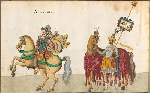 Allegorical Baptism Festival 1600 - Alexander and Persia