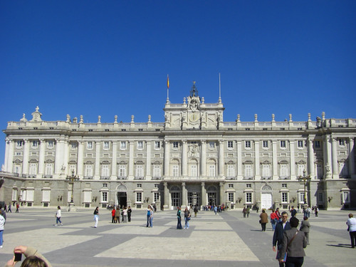 Palacio Real (Royal Palace) Madrid, Spain