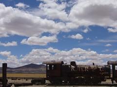 Salar Uyuni tour - Sud lipez - Cimetiere de trains