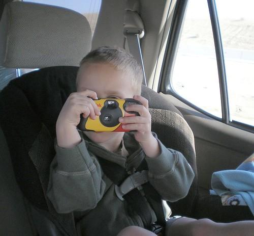 my little photographer