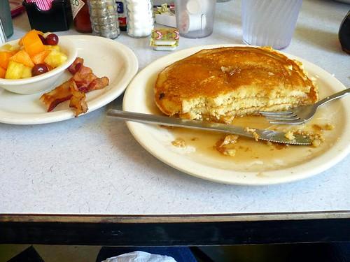 kids pancake platter